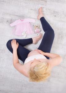 Schwangerschaft Foto vorher nacher