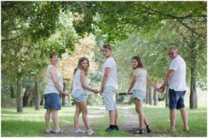 Erinnerungsfotos Familie