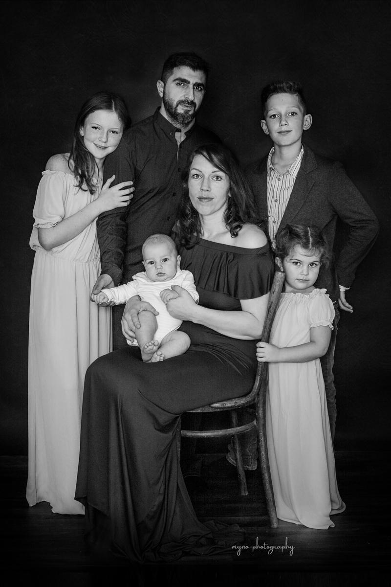 Küntlerisches Familienportraits