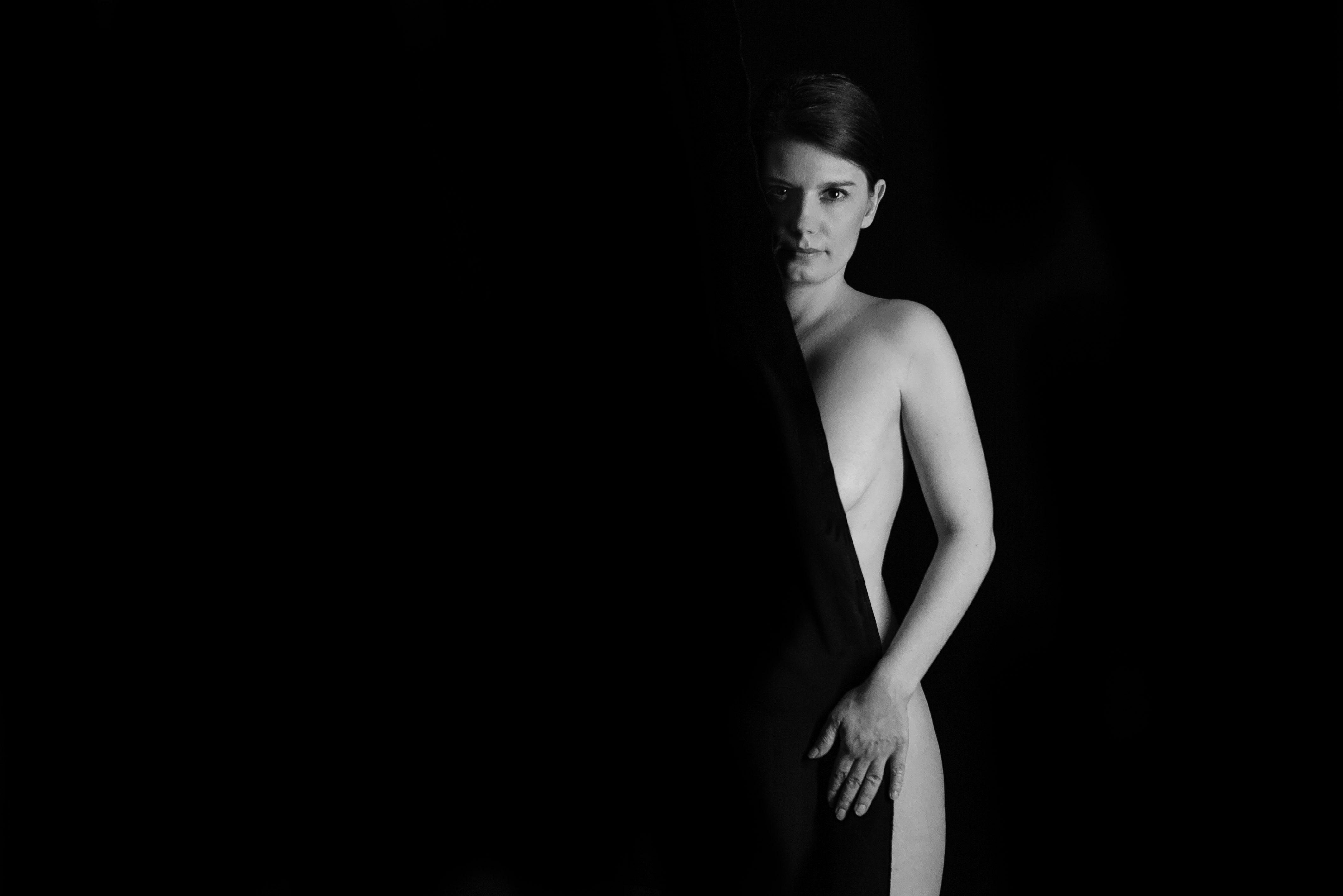 Black and White Aktfotos