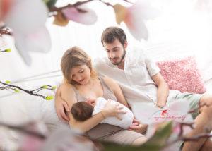 Erste Familienfoto