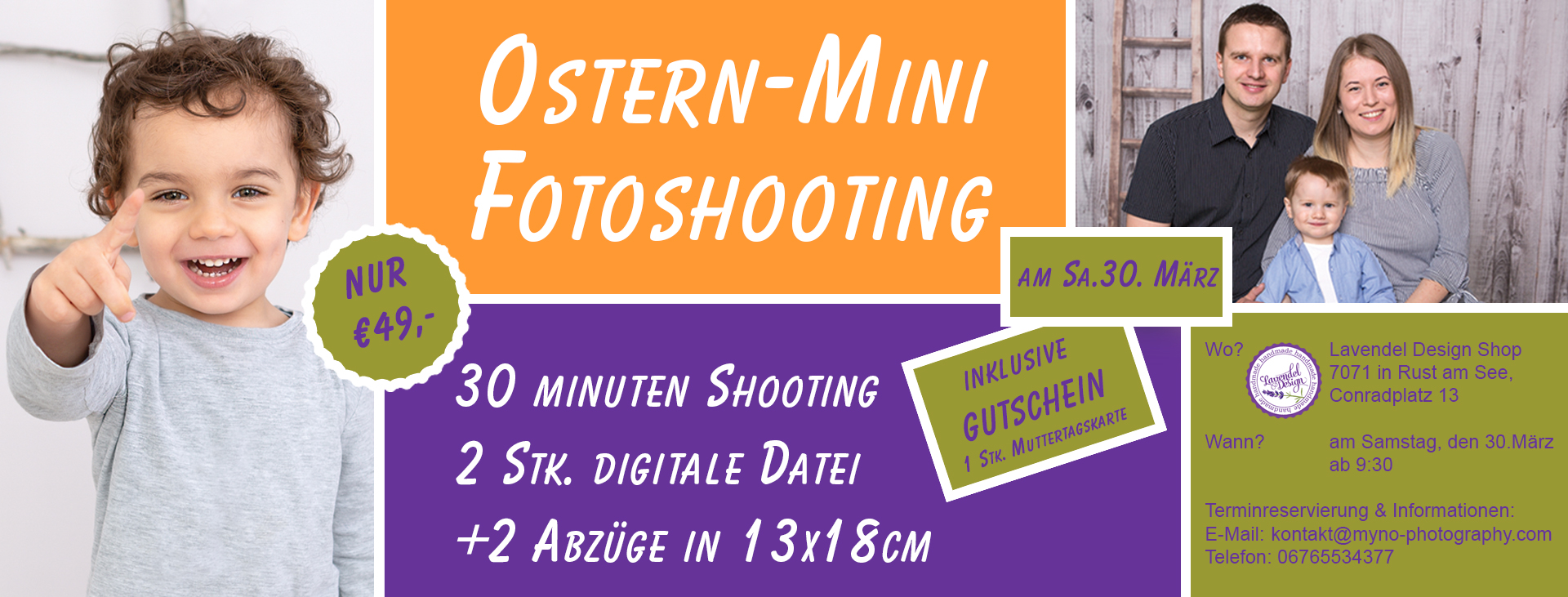 Ostern-Mini Fotoshooting