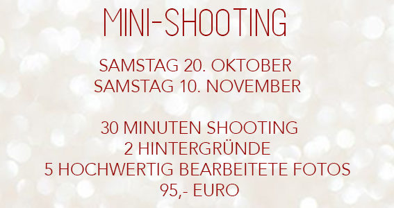 Christmas Mini Shooting für Familien